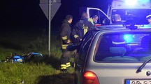 IN VIA PIAVE L'incidente è avvenuto attorno attorno alle 21 di venerdì sulla provinciale che  da Barlassina porta a Cogliate