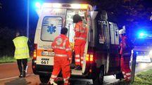 Un'ambulanza (Foto archivio)