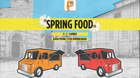 """Spring food"" in piazza Ventidio"