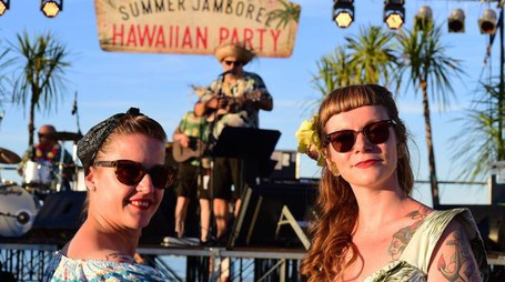 L'Hawaiian party, un classico del Jamboree (ph Marco Carloni)