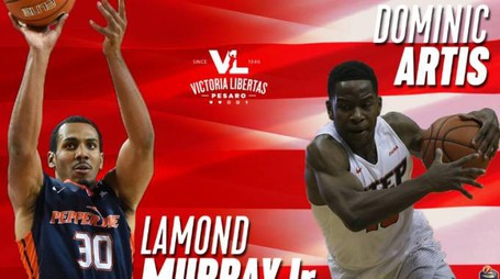 Lamond Murray JR e Dominic Artis