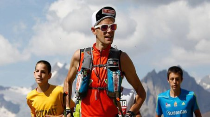 Gianluca Galeati, 35 anni, ultrarunner imolese