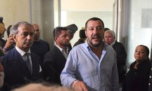 Matteo Salvini all'Hotel House