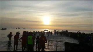 Ironman a Cervia, si parte. Il video