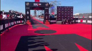 Ironman Cervia 2019, Alex Zanardi all'arrivo