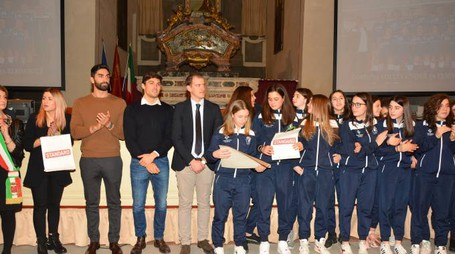Cortona Volley Femminile Under 14 premiata (Foto M.Pinna)