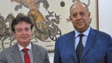 Gualserio Zamperini e Slim Tlatli