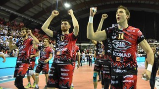 Volley: Sir Safety Conad Perugia-Cucine Lube Civitanova, le foto di gara 1