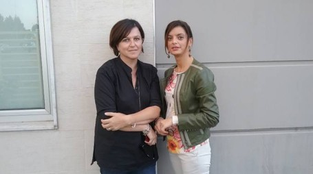 Elisa Bertini e Francesca Neri