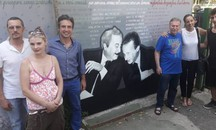 Il murales inaugurato all'Isolotto