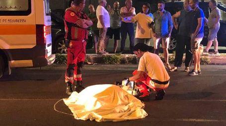 Incidente mortale a Terni (foto Pianeta Foto)