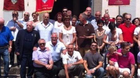 I donatori di sangue e plasma iscritti all'Avis di Podenzana (foto d'archivio)