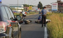 La scena dell'incidente (Fotocronache Germogli)