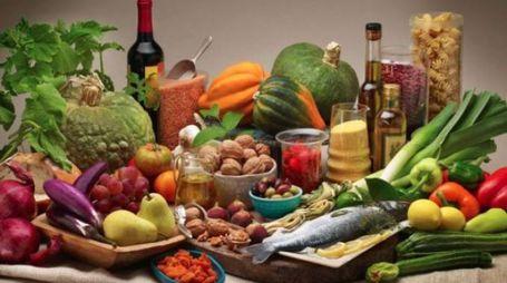 Dieta mediterranea, foto di repertorio (Ansa)