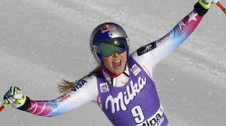 Sofia Goggia vola sullo Schuss. La Vonn prima a Cortina