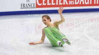Carolina Kostner cade ma il bronzo è suo