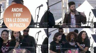 Donne in piazza: il 2018 inizia in rosa