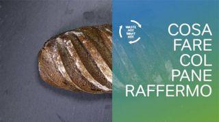 Una ricetta geniale per non buttare il pane raffermo