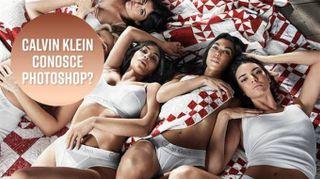 Le Kardashian per Calvin Klein: ritocco sbagliatissimo
