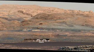 Marte, le spettacolari foto della sonda Curiosity