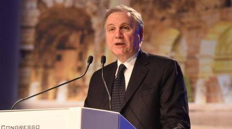 Il governatore della Banca d'Italia Ignazio Visco (Imagoeconomica)