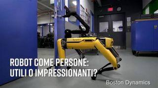 Passi da gigante: il robot che apre la porta