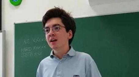 Marco B., il 16enne scomparso a Riva del Garda (Ansa)