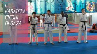 I karateka ciechi di Gaza conquistano il bronzo