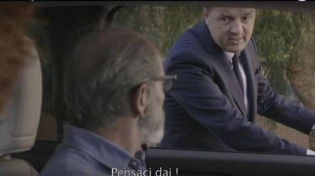 Elezioni, Renzi recita nello spot del Pd