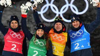 Olimpiadi invernali 2018, Italia di bronzo (con thriller) nel biathlon