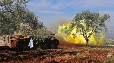 L'offensiva turca su Afrin (Lapresse)