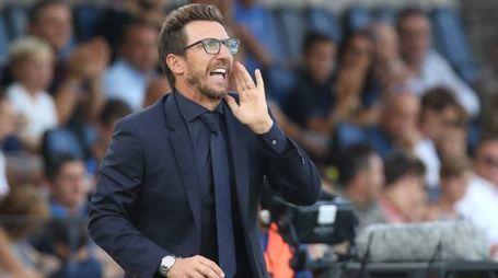 Eusebio Di Francesco, allenatore della Roma (Newpress)