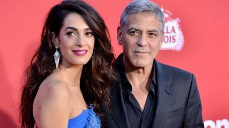 George e Amal Clooney (Lapresse)