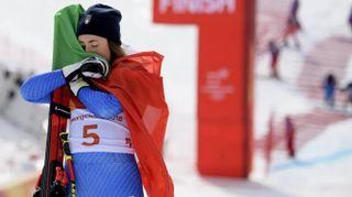 """Olimpiadi Invernali 2018, Sofia Goggia: """"Sono un samurai"""""""