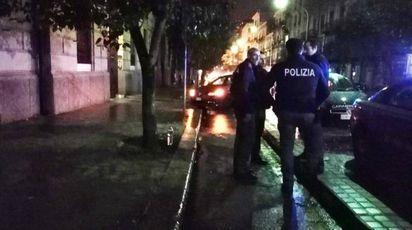 Massimo Ursino è stato aggredito in via Dante, a Palermo (Ansa)