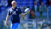Il c.t. Conor O'Shea
