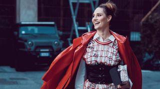 Milano fashion week: rosso o animalier, i look da copiare