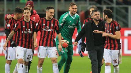 Gattuso e il Milan (Newpress)