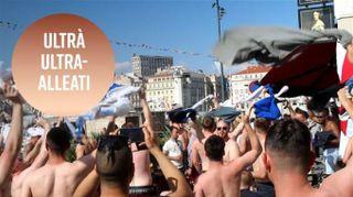 Ultrà argentini e russi contro hooligans inglesi