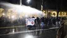 Torino, il corteo contro Casa Pound (Lapresse)