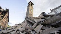 Terremoto ad Amatrice (Ansa)