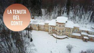 Pronti ad entrare in una villa abbandonata del 1700?