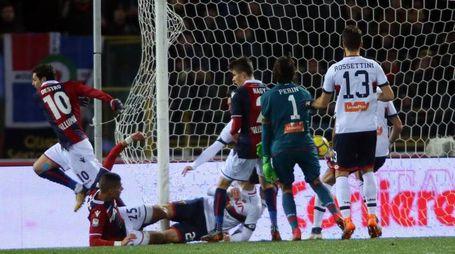 Il gol di Mattia Destro