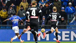 Serie A: Sampdoria-Udinese 2-1