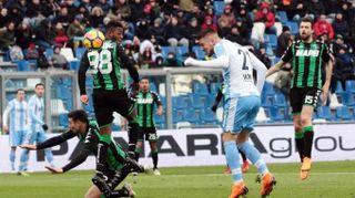Serie A: Sassuolo-Lazio 0-3