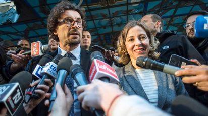 Movimento 5 Stelle, i capigruppo Danilo Toninelli e Giulia Grillo (foto Imagoecnomica)
