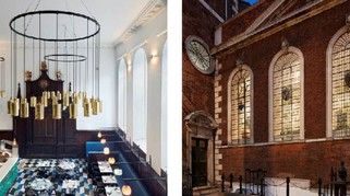Duddell's, il ristorante stellato all'interno di una vecchia chiesa di Londra