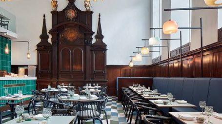 Duddell's ristorante stellato all'interno di una vecchia chiesa