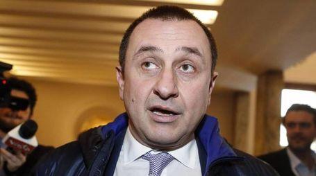 Il capogruppo uscente del Pd Ettore Rosato (Ansa)