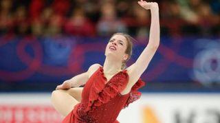 Carolina Kostner sublime, prima dopo il programma corto ai Mondiali di pattinaggio